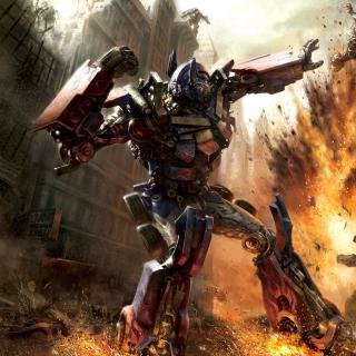 Transformer - Optimus Prime - Obrázkek zdarma pro iPad 3
