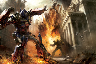 Transformer - Optimus Prime Picture for Android, iPhone and iPad