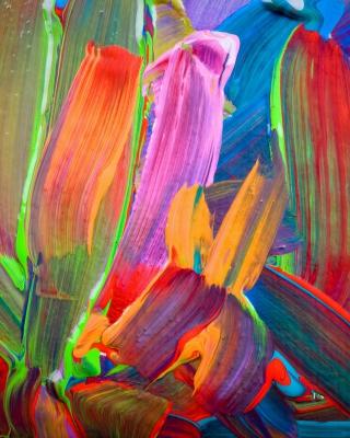 Acrylic Colors - Obrázkek zdarma pro 360x640