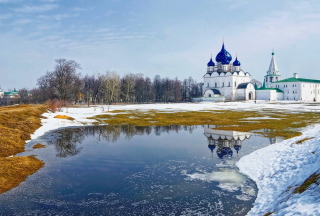 Suzdal Church Wallpaper for Android, iPhone and iPad