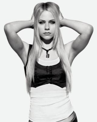 Avril Lavigne Smile - Obrázkek zdarma pro 240x432