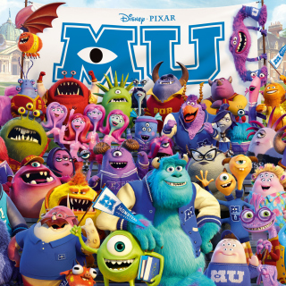 Monsters University Pixar - Obrázkek zdarma pro 208x208