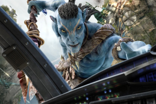 Avatar Movie - Obrázkek zdarma pro 480x320