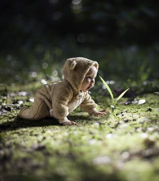 Cute Baby Crawling - Obrázkek zdarma pro iPhone 5S