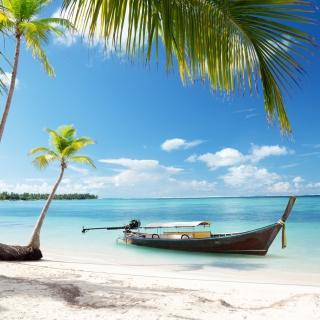 Tulum, Mexico Tropical Beach - Obrázkek zdarma pro iPad Air