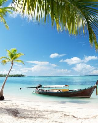 Tulum, Mexico Tropical Beach - Obrázkek zdarma pro Nokia C-5 5MP