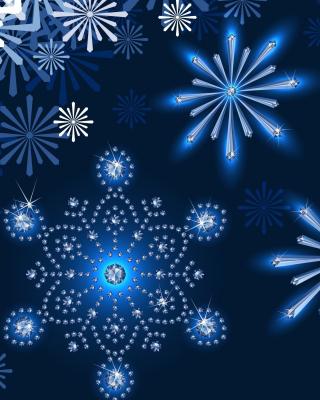 Snowflakes Ornament - Obrázkek zdarma pro Nokia C1-01