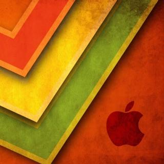 Apple Macintosh Logo - Obrázkek zdarma pro iPad 2