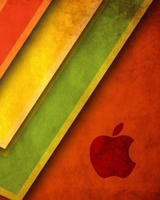 Apple Macintosh Logo - Obrázkek zdarma pro 640x960