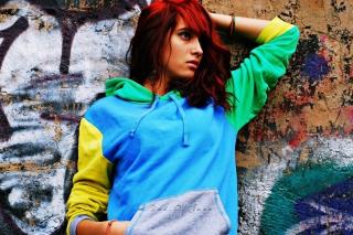 Graffiti Girl - Obrázkek zdarma pro Fullscreen 1152x864