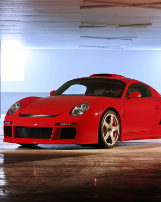 Porsche 911 Carrera Retro - Obrázkek zdarma pro Nokia Asha 311