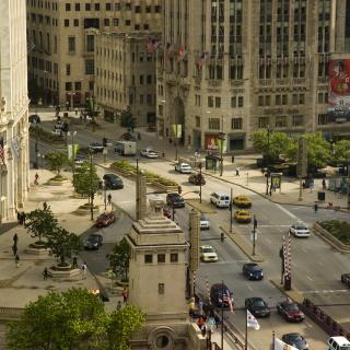 Chicago Street - Obrázkek zdarma pro 128x128