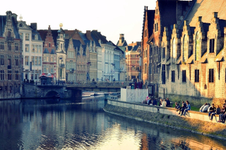 Ghent, Belgium Wallpaper for Android, iPhone and iPad