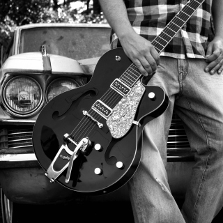Guitar Bigsby - Obrázkek zdarma pro iPad