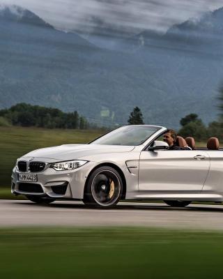 BMW M4 Convertible - Obrázkek zdarma pro 240x432