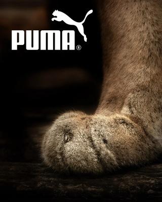 Puma Fluffy Logo - Obrázkek zdarma pro 480x800