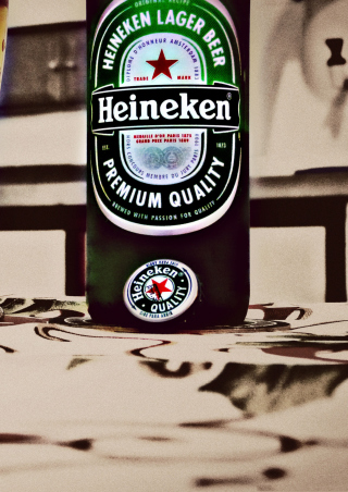 Heineken - Obrázkek zdarma pro Nokia X2-02