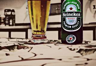 Heineken - Obrázkek zdarma pro Nokia Asha 210