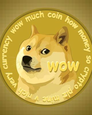 Dog Golden Coin - Obrázkek zdarma pro iPhone 4S