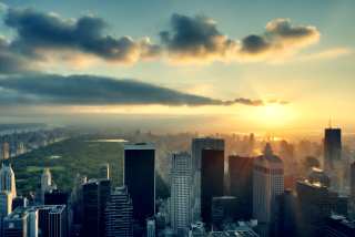 NYC Skyscrapers Background for Android, iPhone and iPad