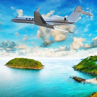Private Island Luxury Holiday - Obrázkek zdarma pro iPad mini 2