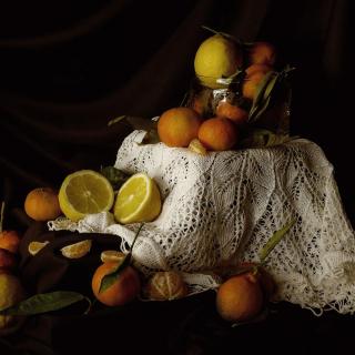 Still Life with Fruit - Obrázkek zdarma pro iPad Air