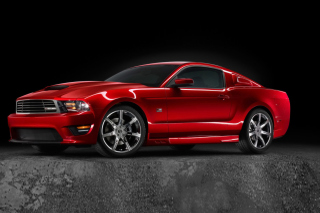 Saleen S281 Supercharged Mustang Background for Android, iPhone and iPad