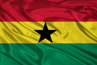 Ghana Flag Background for Android, iPhone and iPad