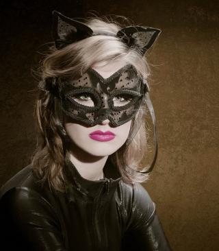 Cat Woman Mask - Obrázkek zdarma pro Nokia Asha 503