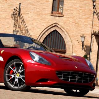 Ferrari California T Super Car - Obrázkek zdarma pro iPad