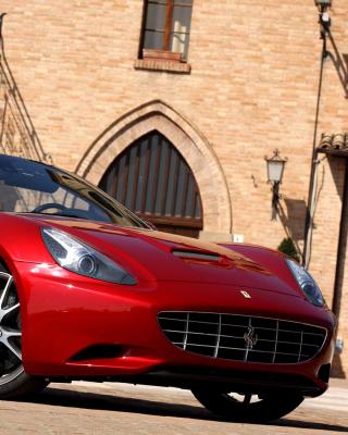 Ferrari California T Super Car - Obrázkek zdarma pro 240x320