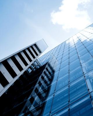 Office Business Park - Obrázkek zdarma pro iPhone 4S