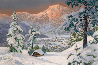 Free Alois Arnegger, Alpine scenes Picture for Android, iPhone and iPad