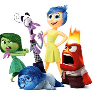 Inside Out, Pixar - Obrázkek zdarma pro iPad mini