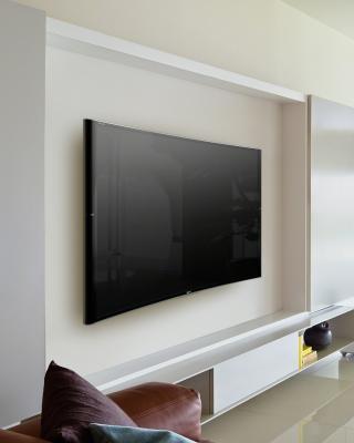 Sony Bravia S90 Curved 4K TV - Obrázkek zdarma pro 128x160
