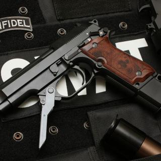 Beretta 93R - Obrázkek zdarma pro iPad mini