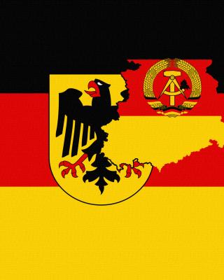 German Flag With Eagle Emblem - Obrázkek zdarma pro Nokia X7