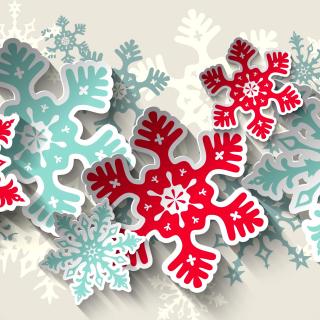 Snowflakes Decoration - Obrázkek zdarma pro iPad