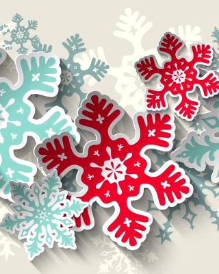 Snowflakes Decoration - Obrázkek zdarma pro Nokia Asha 203