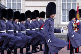 Buckingham Palace Queens Guard Wallpaper for Android, iPhone and iPad
