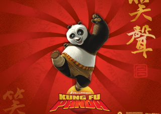 Kung Fu Panda Background for Android, iPhone and iPad
