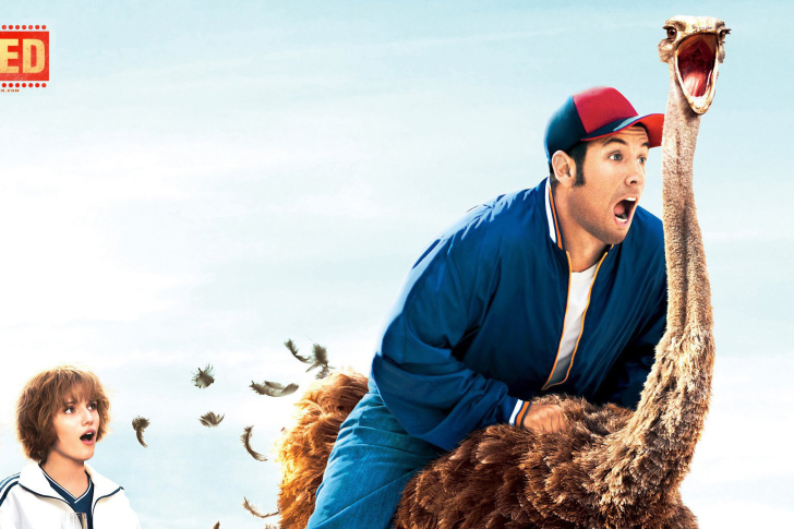 Blended Film With Adam Sandler Wallpaper For Android