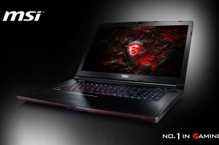 MSI Laptop - Obrázkek zdarma pro Desktop Netbook 1024x600