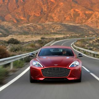 Aston Martin Rapide Grand Tourer - Obrázkek zdarma pro iPad