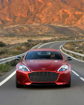Aston Martin Rapide Grand Tourer - Obrázkek zdarma pro 132x176