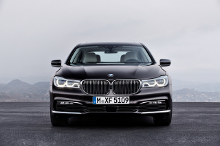 BMW 750Li Background for Android, iPhone and iPad