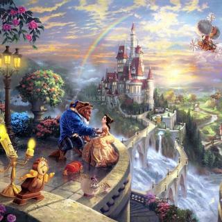 Beauty and the Beast - Obrázkek zdarma pro 208x208