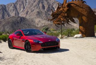 Aston Martin In China - Obrázkek zdarma pro LG P500 Optimus One