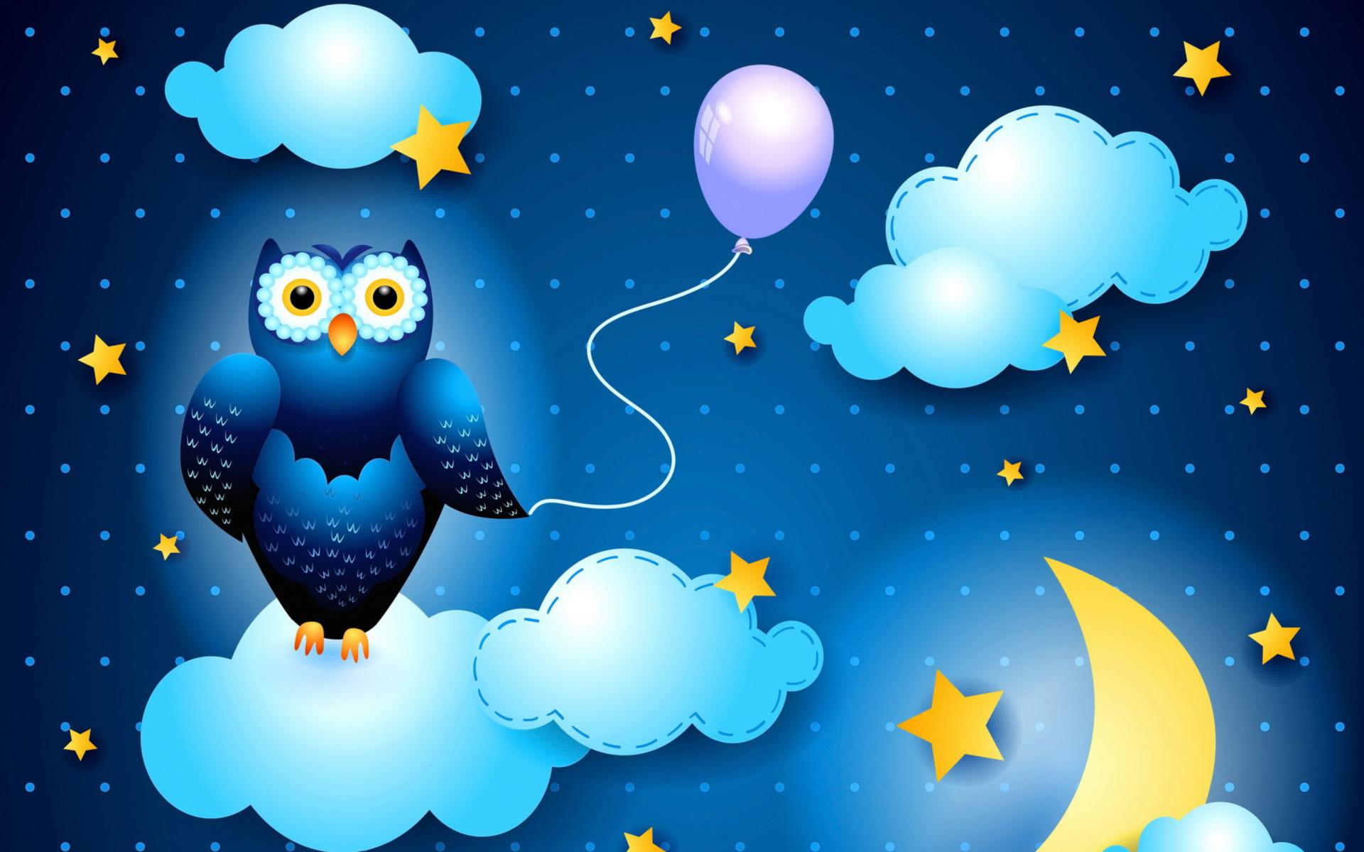 Night Owl Wallpaper For Widescreen Desktop PC 1920x1080