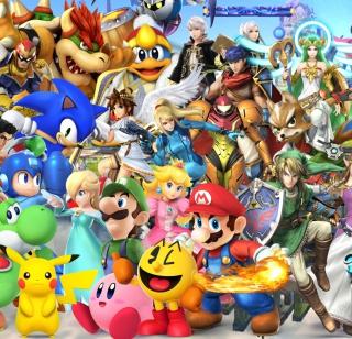 Super Smash Bros - Obrázkek zdarma pro iPad Air